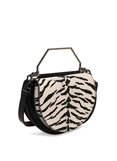 Nine West Messenger / Askılı Çanta Zebra